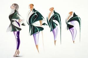 Fashion Moda-121 Sanatsal Modern Dekorasyon Kanvas Tabloları