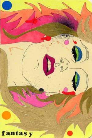 Fashion Moda-127 Sanatsal Modern Dekorasyon Kanvas Tabloları