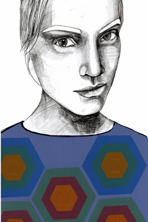 Fashion Moda-136 Sanatsal Modern Dekorasyon Kanvas Tabloları