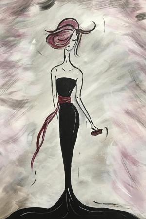 Fashion Moda-15 Sanatsal Modern Dekorasyon Kanvas Tabloları
