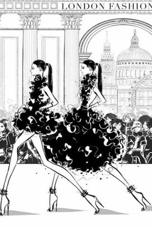 Fashion Moda-152 Sanatsal Modern Dekorasyon Kanvas Tabloları