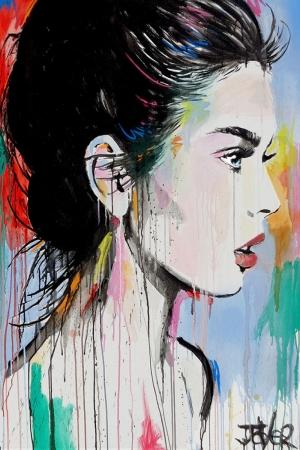 Fashion Moda-16 Sanatsal Modern Dekorasyon Kanvas Tabloları