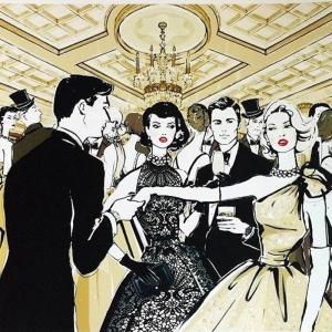 Fashion Moda-162 Sanatsal Modern Dekorasyon Kanvas Tabloları