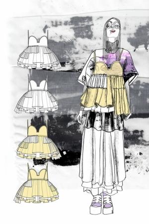 Fashion Moda-165 Sanatsal Modern Dekorasyon Kanvas Tabloları