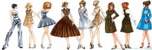 Fashion Moda-184 Sanatsal Modern Dekorasyon Kanvas Tabloları