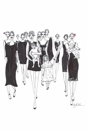 Fashion Moda-188 Sanatsal Modern Dekorasyon Kanvas Tabloları
