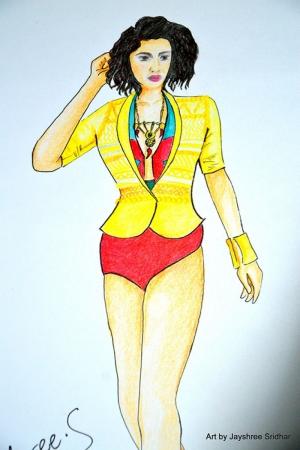 Fashion Moda-192 Sanatsal Modern Dekorasyon Kanvas Tabloları