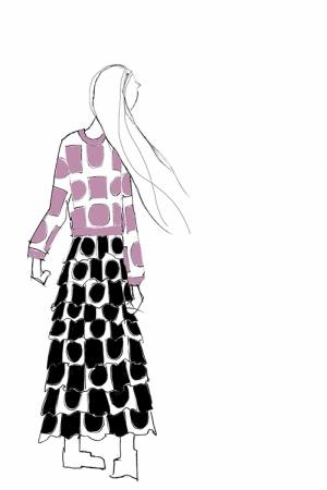 Fashion Moda-195 Sanatsal Modern Dekorasyon Kanvas Tabloları