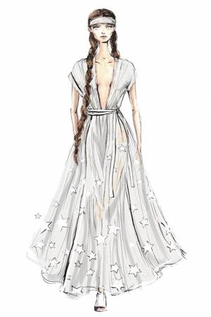 Fashion Moda-197 Sanatsal Modern Dekorasyon Kanvas Tabloları