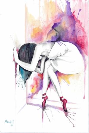 Fashion Moda-2 Sanatsal Modern Dekorasyon Kanvas Tabloları