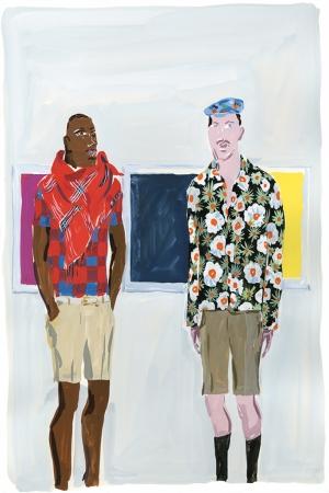 Fashion Moda-200 Sanatsal Modern Dekorasyon Kanvas Tabloları