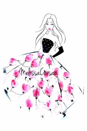 Fashion Moda-237 İllustrasyon Çizim Sanatsal Modern Dekorasyon Kanvas Tabloları