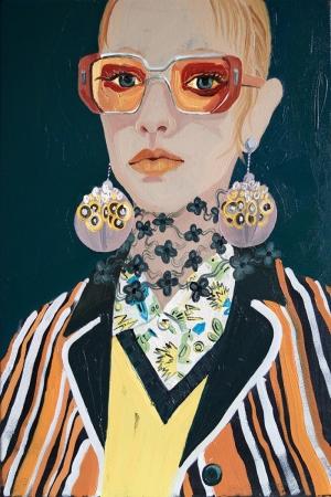Fashion Moda-24 Sanatsal Modern Dekorasyon Kanvas Tabloları