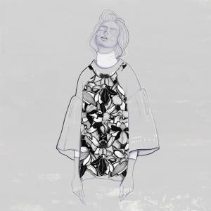 Fashion Moda-240 İllustrasyon Çizim Sanatsal Modern Dekorasyon Kanvas Tabloları