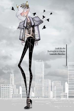 Fashion Moda-243 İllustrasyon Çizim Sanatsal Modern Dekorasyon Kanvas Tabloları