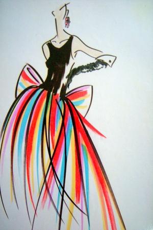 Fashion Moda-25 Sanatsal Modern Dekorasyon Kanvas Tabloları