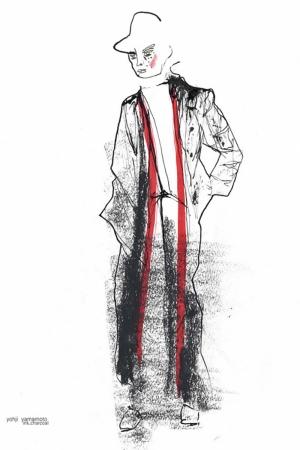 Fashion Moda-256 İllustrasyon Çizim Sanatsal Modern Dekorasyon Kanvas Tabloları