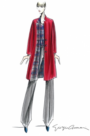 Fashion Moda-258 İllustrasyon Çizim Sanatsal Modern Dekorasyon Kanvas Tabloları