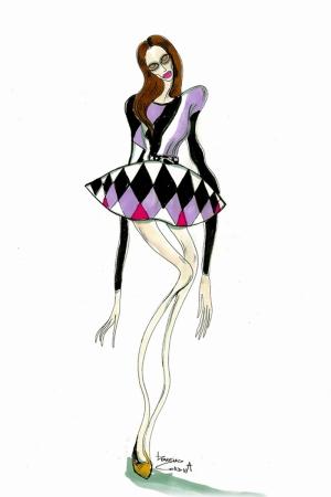 Fashion Moda-26 Sanatsal Modern Dekorasyon Kanvas Tabloları