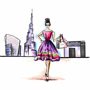 Fashion Moda-277 İllustrasyon Çizim Sanatsal Modern Dekorasyon Kanvas Tabloları