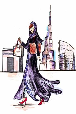 Fashion Moda-279 İllustrasyon Çizim Sanatsal Modern Dekorasyon Kanvas Tabloları