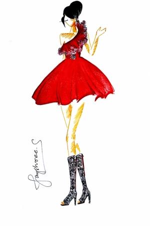 Fashion Moda-28 Sanatsal Modern Dekorasyon Kanvas Tabloları