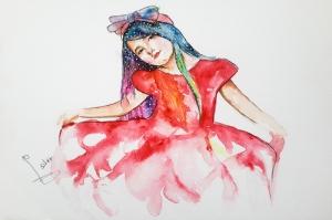 Fashion Moda-34 Sanatsal Modern Dekorasyon Kanvas Tabloları