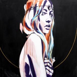 Fashion Moda-37 Sanatsal Modern Dekorasyon Kanvas Tabloları