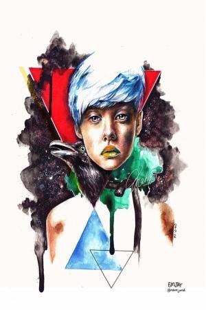 Fashion Moda-39 Sanatsal Modern Dekorasyon Kanvas Tabloları