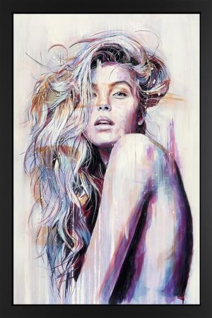 Fashion Moda-40 Sanatsal Modern Dekorasyon Kanvas Tabloları