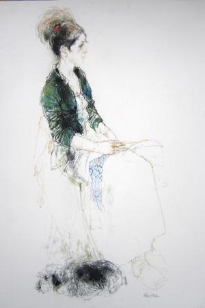 Fashion Moda-44 Sanatsal Modern Dekorasyon Kanvas Tabloları