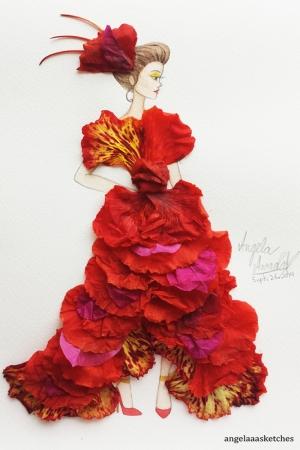 Fashion Moda-45 Sanatsal Modern Dekorasyon Kanvas Tabloları