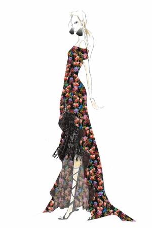 Fashion Moda-47 Sanatsal Modern Dekorasyon Kanvas Tabloları