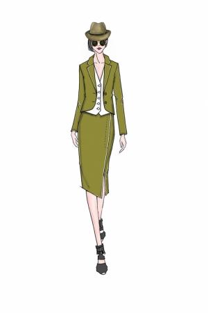 Fashion Moda-49 Sanatsal Modern Dekorasyon Kanvas Tabloları