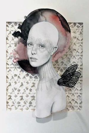 Fashion Moda-54 Sanatsal Modern Dekorasyon Kanvas Tabloları