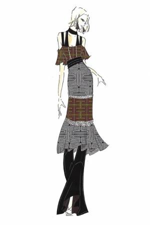 Fashion Moda-65 Sanatsal Modern Dekorasyon Kanvas Tabloları