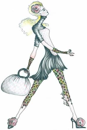 Fashion Moda-69 Sanatsal Modern Dekorasyon Kanvas Tabloları