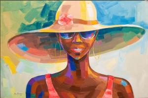 Fashion Moda-7 Sanatsal Modern Dekorasyon Kanvas Tabloları