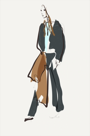 Fashion Moda-70 Sanatsal Modern Dekorasyon Kanvas Tabloları