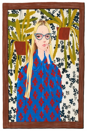 Fashion Moda-88 Sanatsal Modern Dekorasyon Kanvas Tabloları