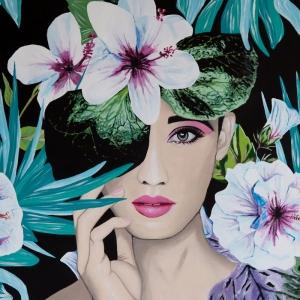Fashion Moda-9 Sanatsal Modern Dekorasyon Kanvas Tabloları