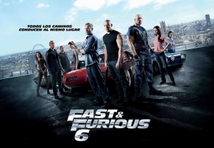 Fast and Furious 6 Hızlı ve Öfkeli Kanvas Tablo