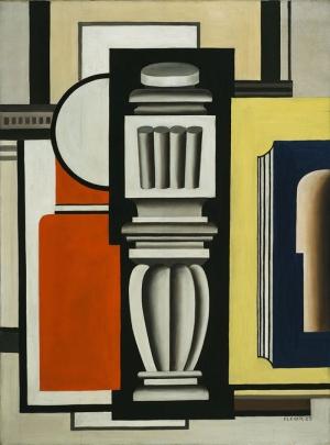Fernand Leger Soyut Yağlı Boya Klasik Sanat Canvas Tablo