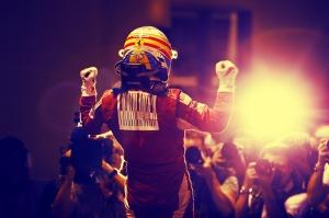 Fernando Alonso Ferrari Formula 1 Spor Kanvas Tablo