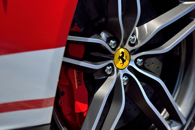 Ferrari 599 GTO Jant Araçlar Kanvas Tablo