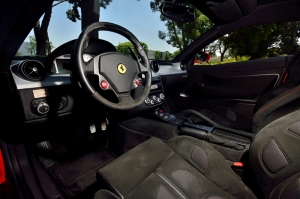 Ferrari 599 Kokpit Araçlar Kanvas Tablo