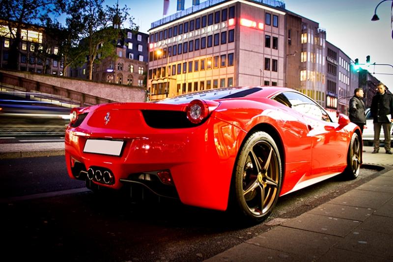 Ferrari California Araçlar Kanvas Tablo