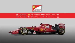 Ferrari Formula 1 Otomobil Araçlar Kanvas Tablo