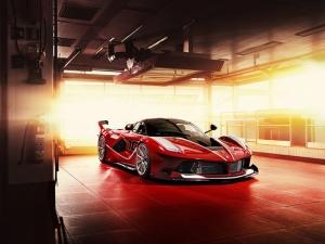 Ferrari FXX Araçlar Kanvas Tablo