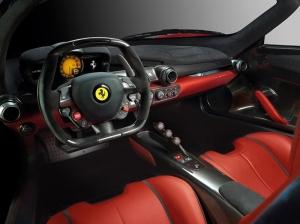 Ferrari La Ferrari Direksiyon ve Kokpit 2 Araçlar Kanvas Tablo